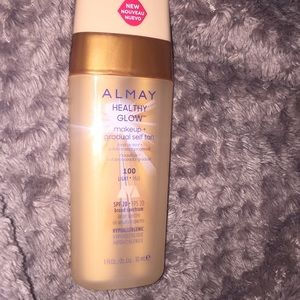 ALMAY HEALTHY GLOW makeup + gradual self tan 100